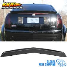 cadillac cts styles for 03 07 cadillac cts oe factory style trunk spoiler primer abs