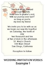 wedding invitation verses sle wedding invitation wording