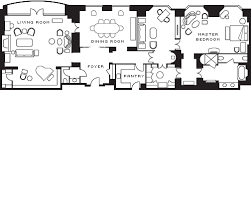 Hotel Suite Floor Plan Presidential Suite Boston Suites Four Seasons Hotel Boston