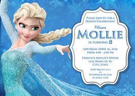 elsa frozen birthday party invitation ideas u2013 bagvania free
