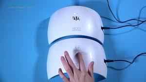 abody led uv lamp nail gel dryer fingernail u0026 toenail gel curing