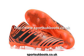 buy football boots uk adidas nemeziz 17 1 acc fg orange black firm ground