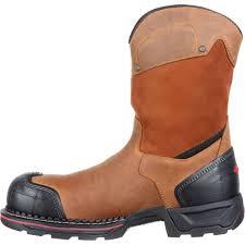 rocky maxx men u0027s pull on composite toe waterproof work boots