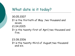 Which Date Is Days Of The Week Dates