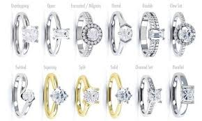 types of wedding ring styles of wedding rings wedding rings wedding ideas and inspirations