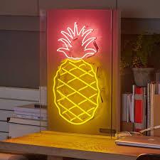 pineapple neon light sign by brilliant neon notonthehighstreet com