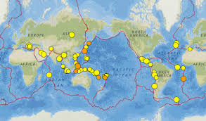 Fault Line Map Greece The Azores And The San Andreas Fault Earthquakes 22 28