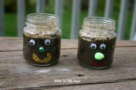 meet hairy a spring gardening craft for kids