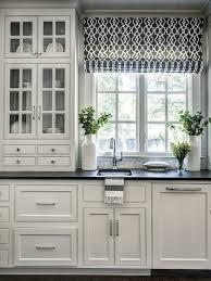 Kitchen Curtain Design Best 25 White Kitchen Curtains Ideas On Pinterest Kitchen