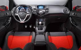 2013 Ford Focus Interior Dimensions 2013 Ford Fiesta St Production Model Comes To Geneva 2012 Geneva