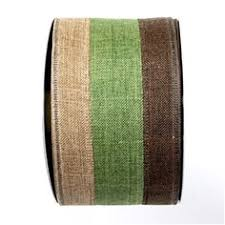colored burlap ribbon 2 5 x 10yd haunted phrases wired ribbon