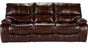 cindy crawford home alpen ridge reclining sofa 1 199 99 gianna brown leather reclining sofa