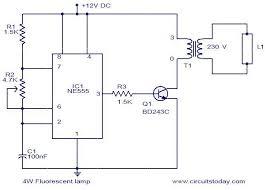 fluorescent lighting wiring diagram circuit and schematics diagram