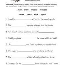pictures on free printable homophone worksheets wedding ideas