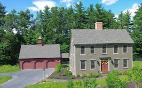 Saltbox Architecture Different Color Barn Than House The Saltbox Colonial Exterior