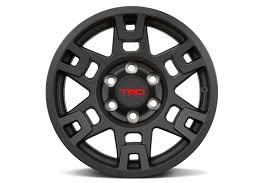 lexus trd wheels 17 inch trd wheels matte black tacoma world
