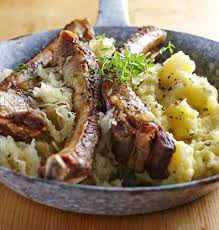 polish pork ribs u0026 sauerkraut zeberka wieprzowe recipe