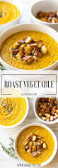 Roasted Vegetable Recipes by Best 20 Roasted Vegetable Soup Ideas On Pinterest Healthy