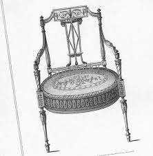 Furniture Design Sketches Drawing Room Chairs Thomas Sheraton Furniture Design Drawing