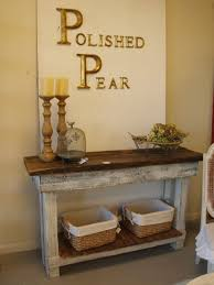 The 25 Best Diy Pallet by The 25 Best Shab Chic Console Table Ideas On Pinterest Within