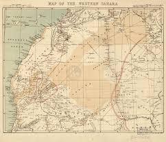 Sahara Desert On World Map by Map Of The Western Sahara World Digital Library