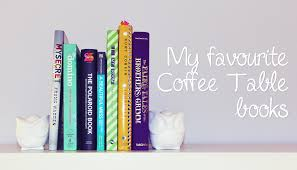 being erin my top 5 coffee table books