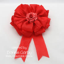 really reasonable ribbon bow it all tutorial big bows with