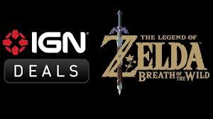 news daily deals 40 off legend of zelda breath of the wild