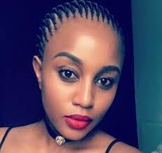 straight back hairstyle how local celeb ladies rock cornrows botswana youth magazine