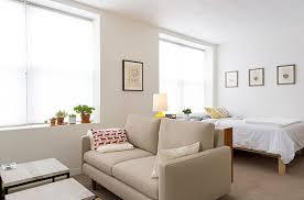 designs ideas stylish studio apartment with small bedroom near