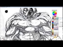 moon knight digital drawing done in sketchbook pro speed art