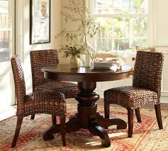 tivoli fixed pedestal dining table pottery barn