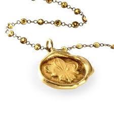 wax seal jewelry fleur de lis gold seal pendant wax seal jewelry nyc catherine