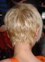 short hairstylescuts for fine hair with back and front view i love the wispy look of this pixie back view short low