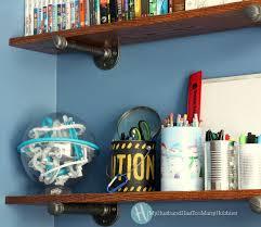 Industrial Bookcase Diy Diy Industrial Pipe Desk U0026 Shelves My Husband Has Too Many Hobbies