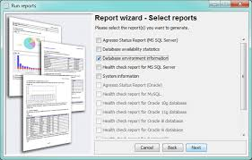 sql server health check report template generate reports dbwatch 12 2