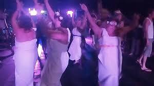 viking boat greek dance sirtaki of rus womans in the sheets