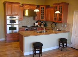 Kitchen Design With Peninsula Kitchen Peninsula Design With Cabinets And Microwave