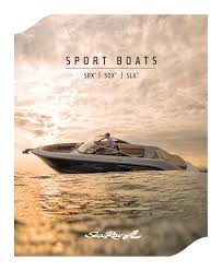 2017 sea ray sport boats brochure by dino publishing issuu