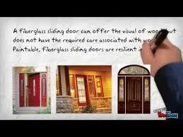 fiberglass sliding glass doors pella sliding glass doors youtube