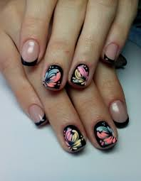 black shellac nails the best images bestartnails com