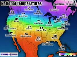 temperature map color and temperature perception is everything watts up with that