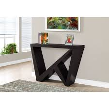 48 inch console table cappucino 48 inch hall accent console table free shipping today