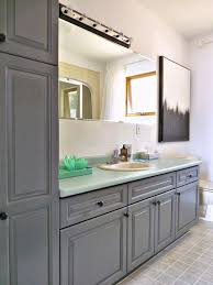 Kitchen Cabinet Transformations A Budget Friendly Bathroom Almost Two Years Laters What Held Up