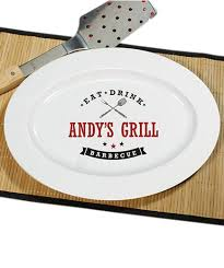 personalized bbq platter personalized gifts for s day real simple
