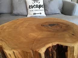 Log Side Table Stump Side Table Log Side Tables Stump Table Like Rustic