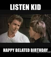 Star Wars Birthday Memes - 50 star wars happy birthday memes funny memes