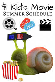 cinemark u0026 regal summer kid u0027s 1 movie schedule for 2017