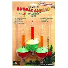 vintage bubble light replacement bulbs amazon com bubble lights replacement bulbs set of 3 with c7 base by