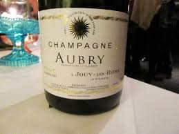 Muted Green by L Aubry Fils Brut Premier Crus Tart Somewhat Muted Green Fruit